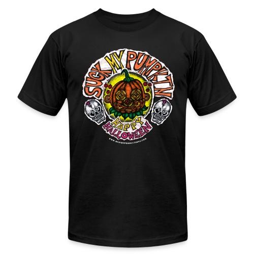 SUCK MY PUMPKIN (MENS 3X T-SHIRT) - Men's Fine Jersey T-Shirt