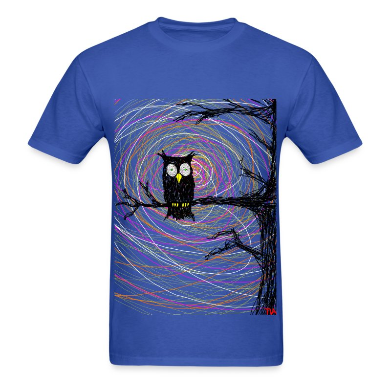 Owl In Spooky Tree Halloween T Shirt Spreadshirt