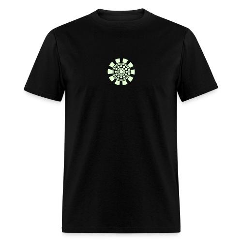 ARC REACTOR T-Shirt Glow in the Dark  - Men's T-Shirt