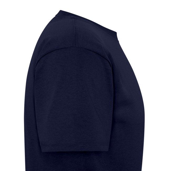 Betamorph 4-up alien logo blue shirt