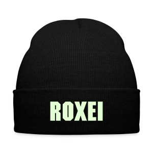 Roxei Made - Knit Cap with Cuff Print
