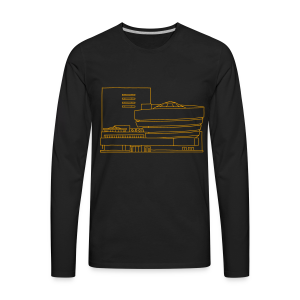 Guggenheim Museum New York - Men's Premium Long Sleeve T-Shirt