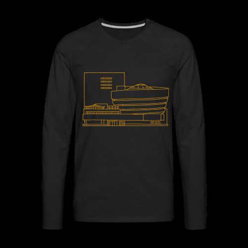 Guggenheim Museum New York - Men's Premium Long Sleeve T-Shirt