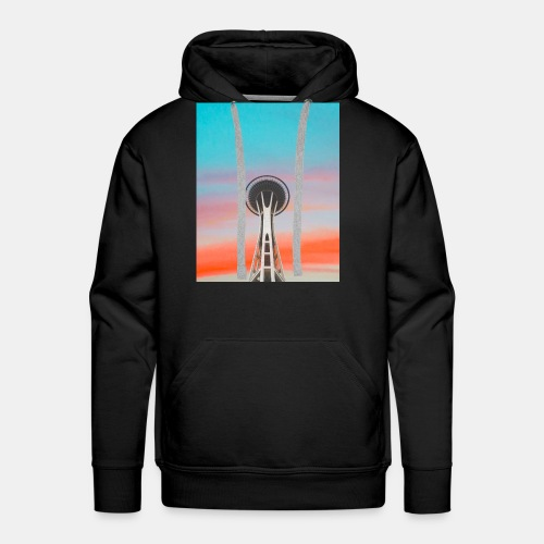 Seattle Sunset - Men's Premium Hoodie