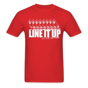 Line it up - Men's T-Shirt