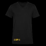 T-Shirts ~ Men's V-Neck T-Shirt by Canvas ~ Article 11153595