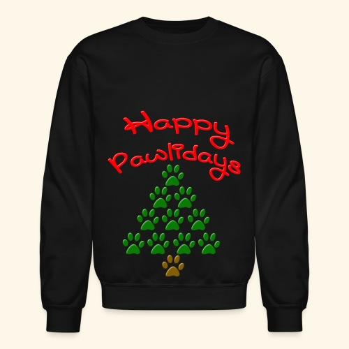 Happy Pawlidays - Crewneck Sweatshirt