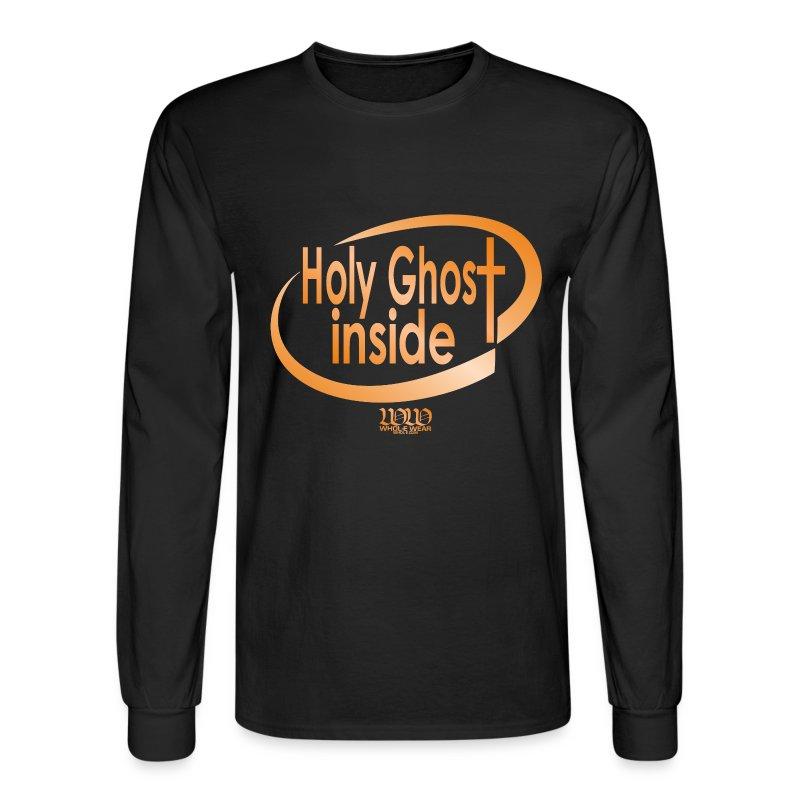 HOLY GHOST INSIDE - Men's Long Sleeve T-Shirt