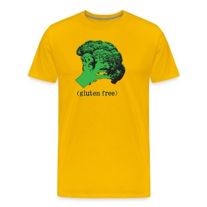 BROCCOLI (gluten free) -Premium Tee - Men's Premium T-Shirt