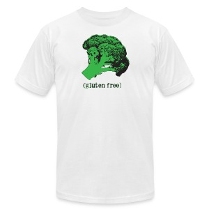 BROCCOLI (gluten free) - Men's T-Shirt by American Apparel