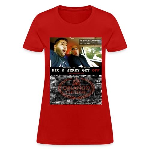 N & J Get OFF Poster Shirt - Women's T-Shirt