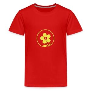 * PeaceFlower Unplugged * ☮ ✿  - T-shirt premium pour ados