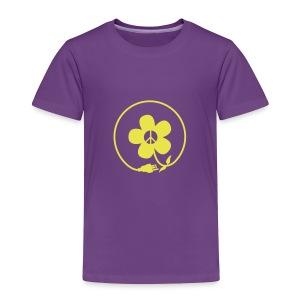 * PeaceFlower Unplugged * ☮ ✿  - T-shirt premium pour enfants
