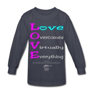 L.O.V.E - Kids' Long Sleeve T-Shirt