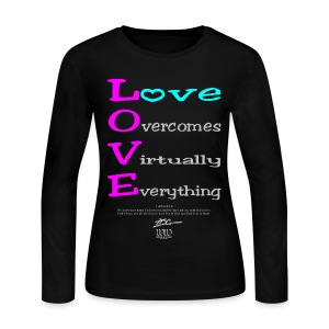 L.O.V.E - Women's Long Sleeve Jersey T-Shirt