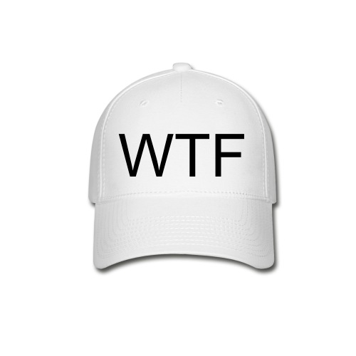 WTF cap by Clark Kent Collection - Baseball Cap