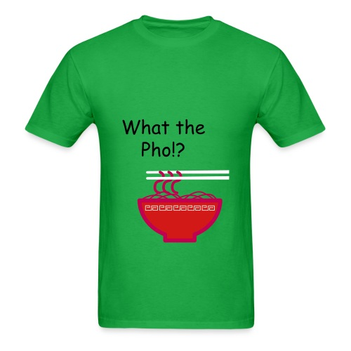 What the Pho! - Men's T-Shirt