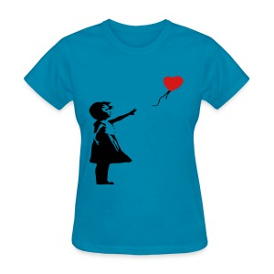 Banksy Art - Women's T-Shirt