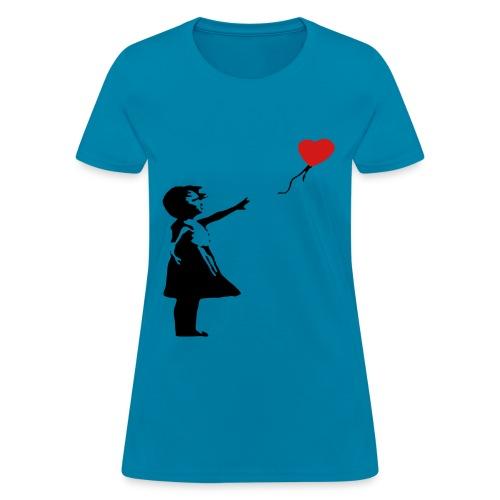 Banksy Art - Women's T-Shirt