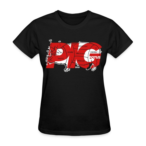 Pig POTUS - Women's T-Shirt
