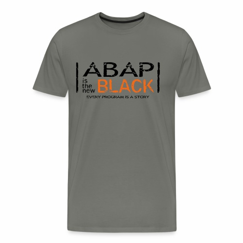 ABAP is the new Black - Men's Premium T-Shirt