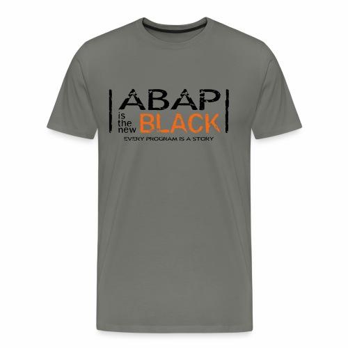 ABAP is the new Black - Men's Premium T-Shirt