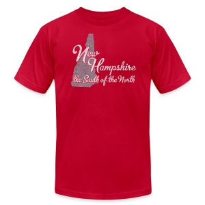 New Hampshire South - Men's Fine Jersey T-Shirt