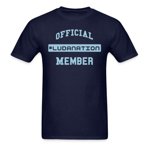 Official #Ludanation Member  - Men's T-Shirt