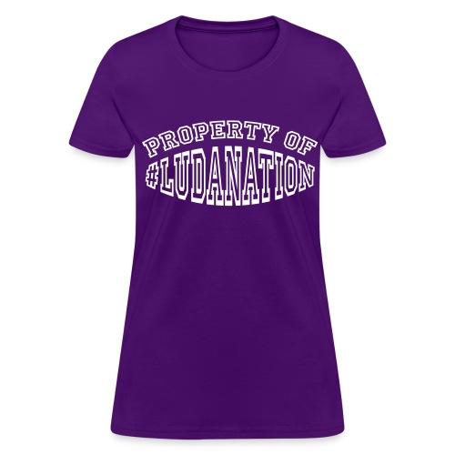 Property of Ludanation - Women's T-Shirt