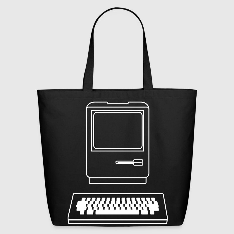 Vintage computer Bags  - Eco-Friendly Cotton Tote