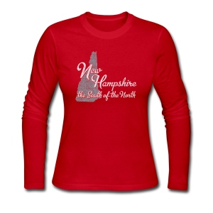 New Hampshire South - Women's Long Sleeve Jersey T-Shirt