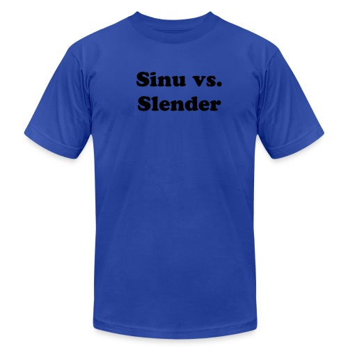 Sinu vs. Slender Mens - Men's Fine Jersey T-Shirt