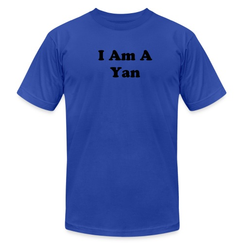 I Am A Yan Mens - Men's Fine Jersey T-Shirt