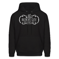 Hoodies ~ Men's Hoodie ~ The One and Only Detroit City