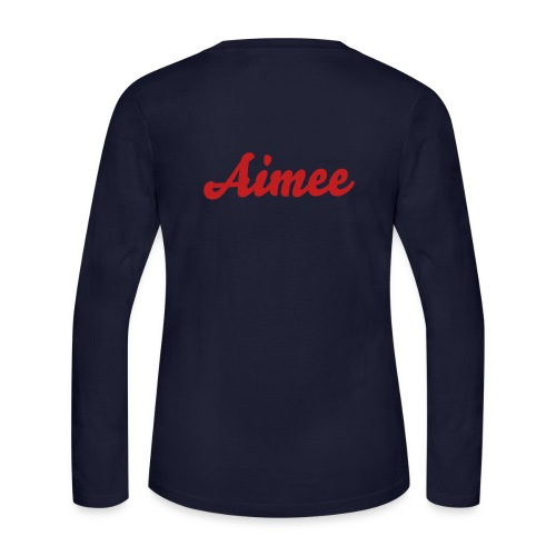 hu alumni tg - Aimee (long sleeve '12) - Women's Long Sleeve Jersey T-Shirt