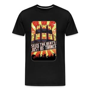 Seize the Beats - Male T-Shirt - Men's Premium T-Shirt