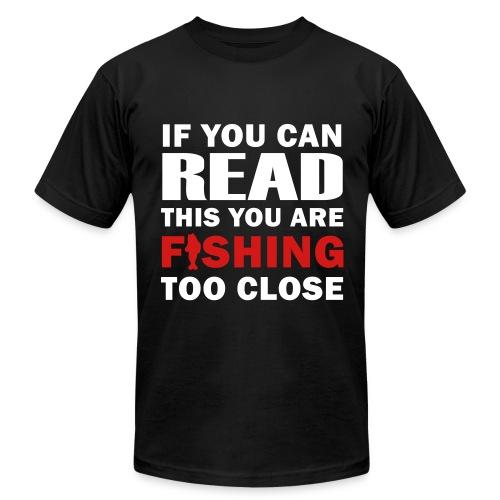 Fishing - Men's Fine Jersey T-Shirt