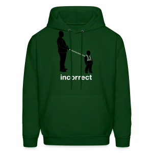 Incorrect: Child Leashes Hoodie - Men's Hoodie