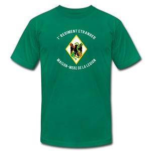 1er RE - Regiment Etranger - Maison Mere - Am Apparel T-shirt - Men's Fine Jersey T-Shirt