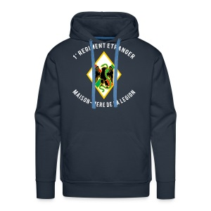 1er RE - Regiment Etranger - Maison Mere - Premium Hoodie - Men's Premium Hoodie