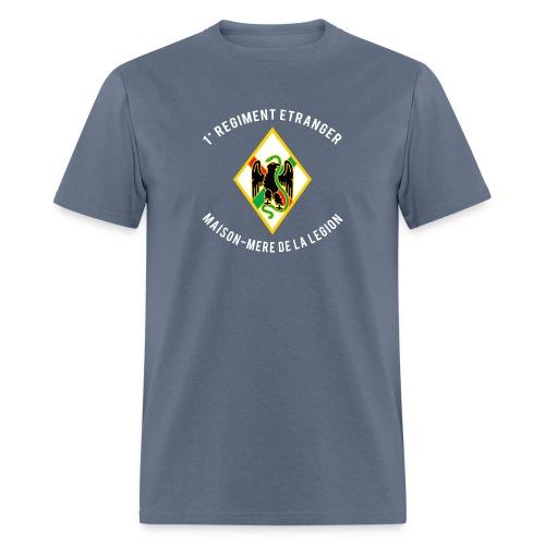 1er RE - Regiment Etranger - Maison Mere - T-shirt - Men's T-Shirt