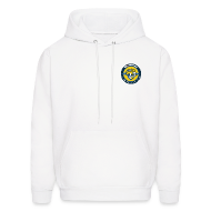 Hoodies ~ Men's Hoodie ~ BFTB Hoodie - Small logo front, Large logo back