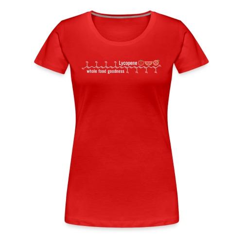 Lycopene: whole food goodness  - Molecule Tee - Women's Premium T-Shirt