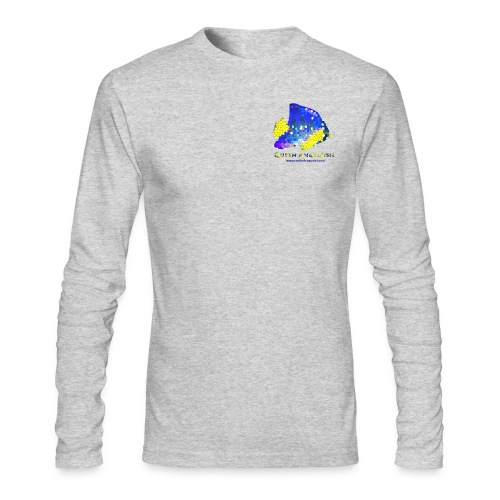 Queen Angelfish - Men's Long Sleeve T-Shirt by Next Level