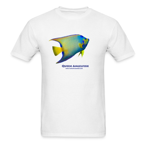 Queen Angelfish - Men's T-Shirt