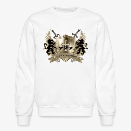 HOLY SPIRIT GOLD SHIELD-Men's Sweat Shirt - Crewneck Sweatshirt
