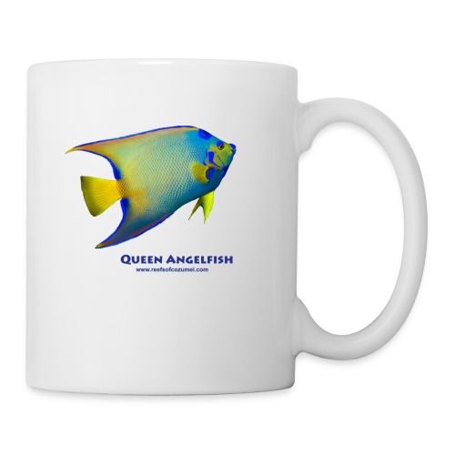 Queen Angelfish - Coffee/Tea Mug
