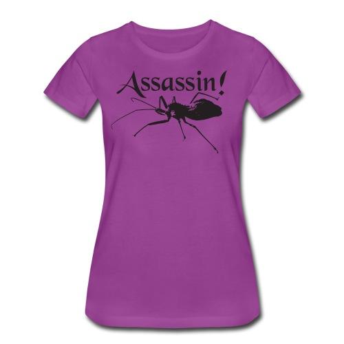 Assassin! (bug) - Women's Premium T-Shirt