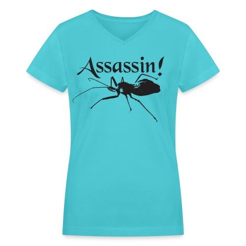 Assassin! (bug) - Women's V-Neck T-Shirt