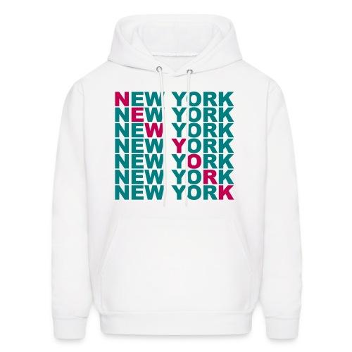 New York,NY Hoodie - Men's Hoodie